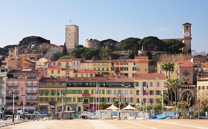 Horizon de Cannes photos stock
