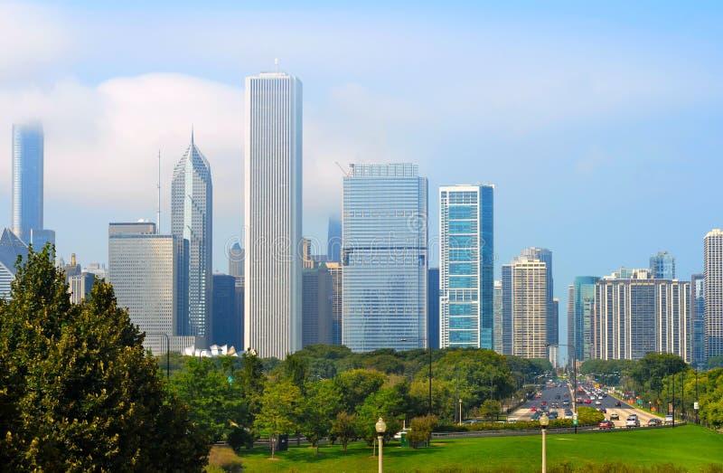 Horizon de Chicago photos libres de droits