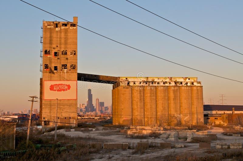 horizon de Chicago image stock
