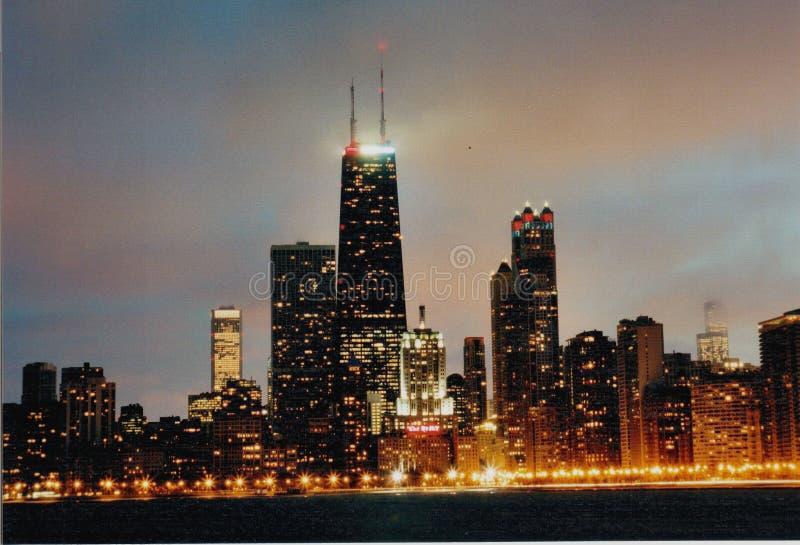 Horizon de Chicago photo stock