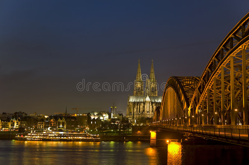horizon de cologne photographie stock