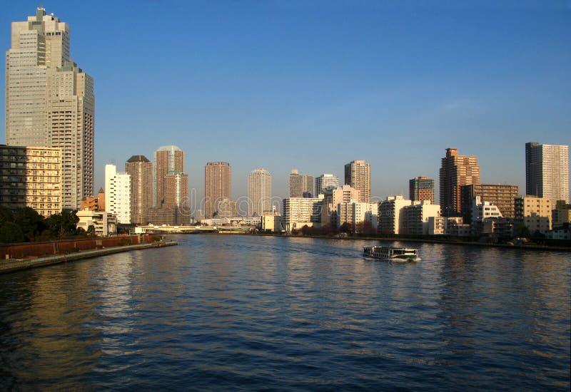 Horizon de compartiment de Tokyo images stock