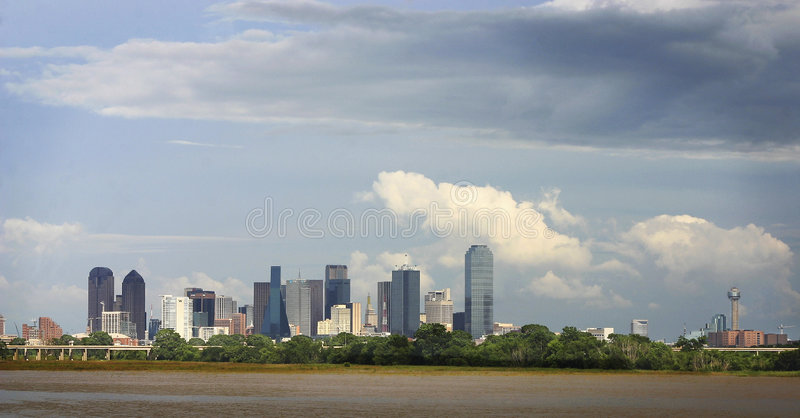 Horizon de Dallas photographie stock