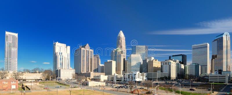 Horizon de de Charlotte de la ville haute images stock