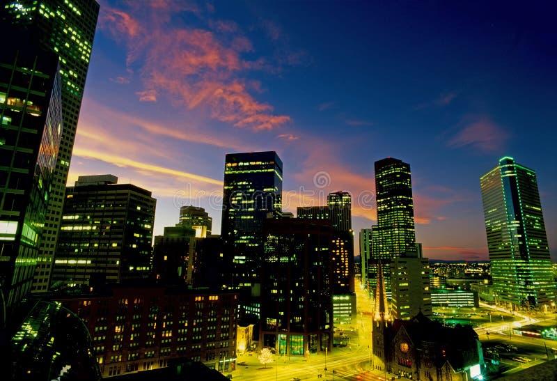Horizon de Denver - 002 images stock