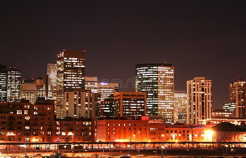 Horizon de Denver photographie stock
