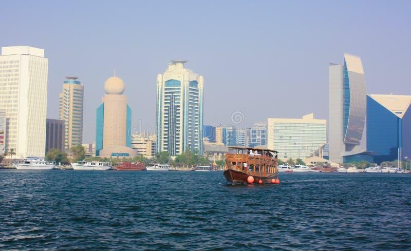 Horizon de Dubaï images stock
