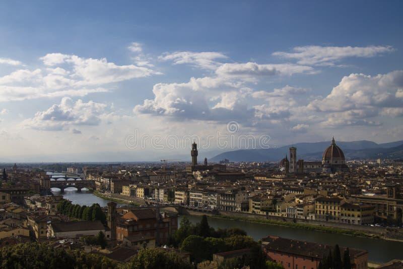 Horizon de Florence image libre de droits