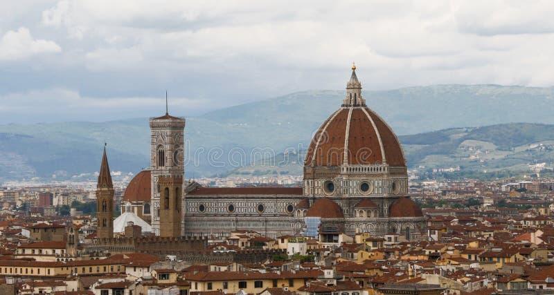 Horizon de Florence photographie stock