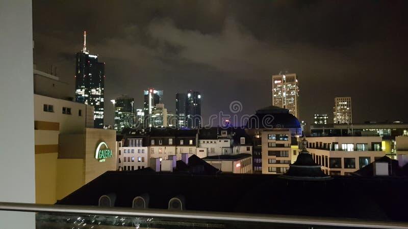 Horizon de Francfort sur Main photo libre de droits