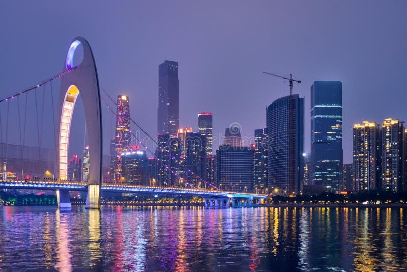 Horizon de Guangzhou Guangzhou, Chine image stock