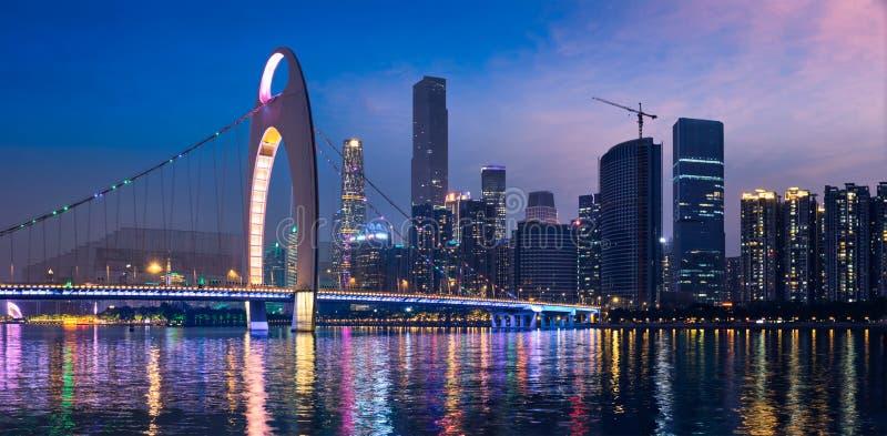 Horizon de Guangzhou Guangzhou, Chine photographie stock
