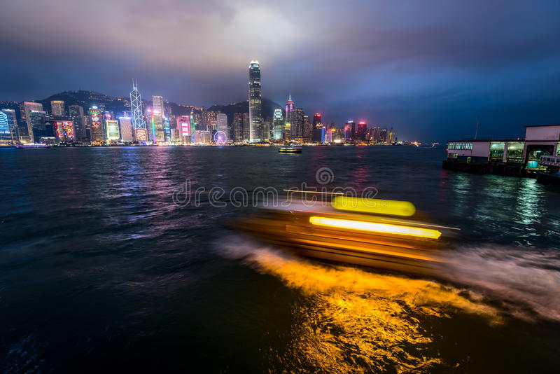 Horizon de Hong Kong photographie stock libre de droits