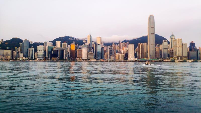 Download Horizon De Hong Kong Pendant Le Matin Photo stock - Image du sunrise, cityscape: 76075590