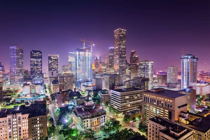 Horizon de Houston le Texas image libre de droits