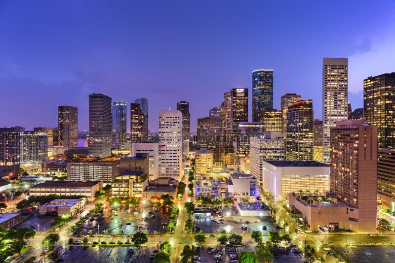 Horizon de Houston le Texas photos libres de droits