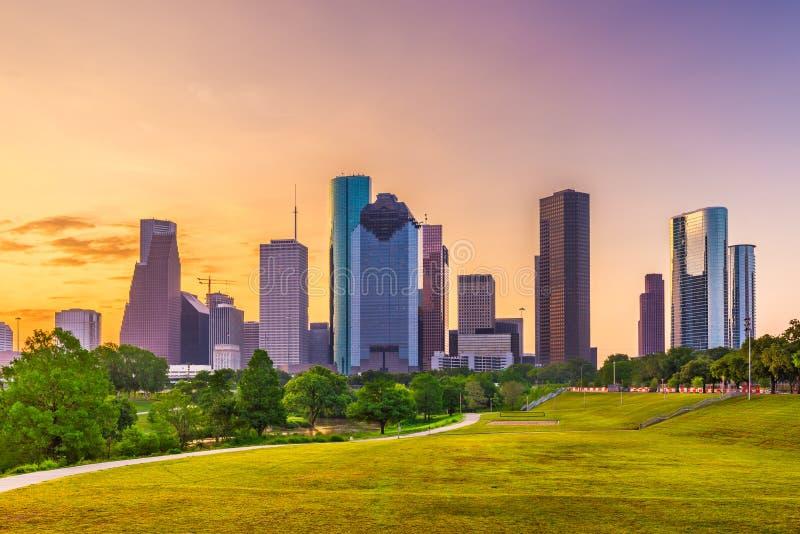 Horizon de Houston, le Texas, Etats-Unis photos libres de droits