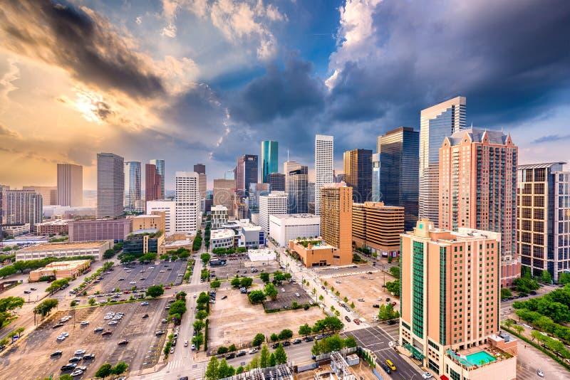 Horizon de Houston, le Texas, Etats-Unis image libre de droits