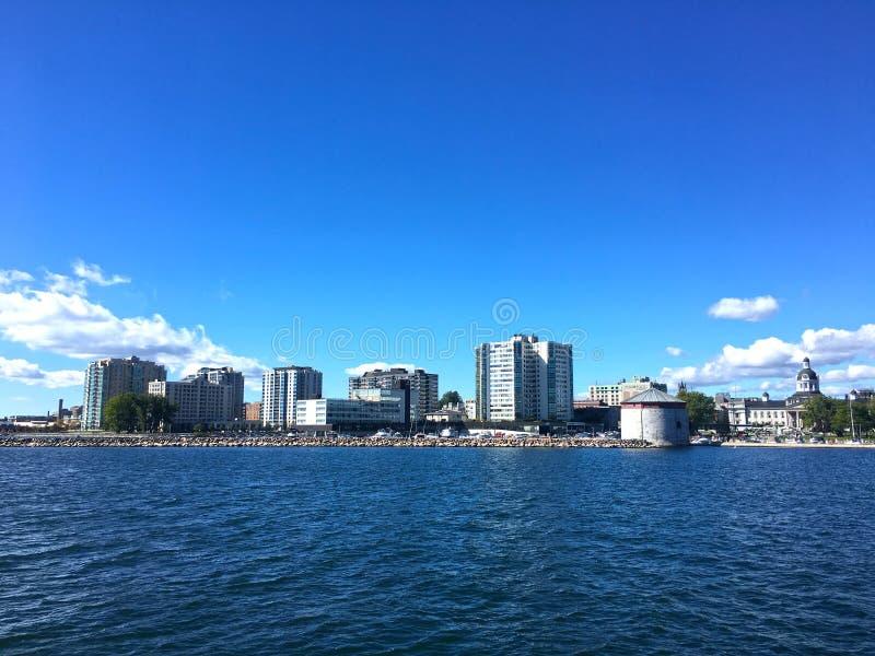Horizon de Kingston, Ontario oriental, Canada images libres de droits