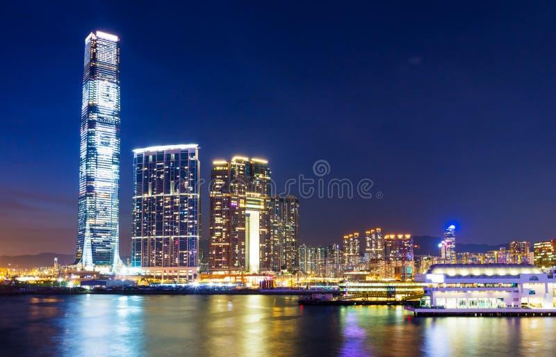 Horizon de Kowloon photo stock