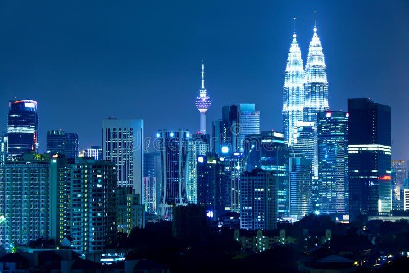 Horizon de Kuala Lumpur photo stock