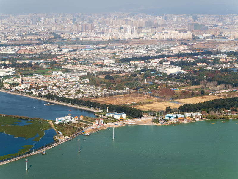 Horizon de Kunming, Chine photos libres de droits