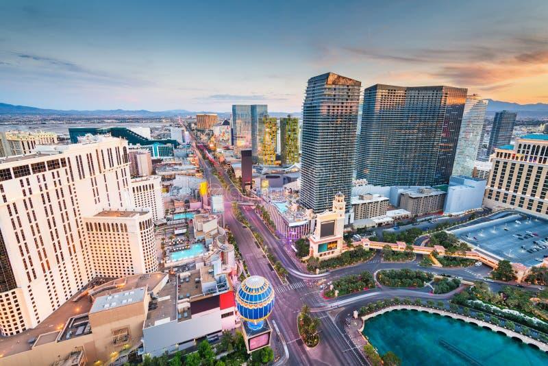 Horizon de Las Vegas, Nevada, Etats-Unis photo libre de droits