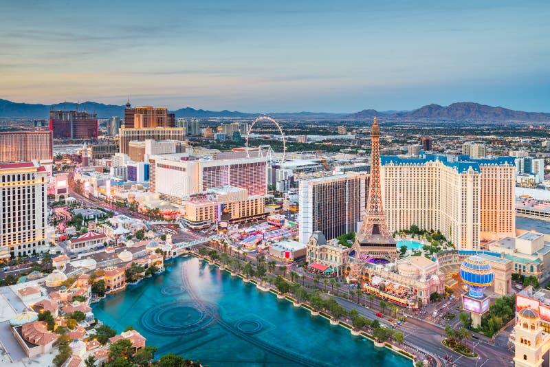 Horizon de Las Vegas, Nevada, Etats-Unis images libres de droits