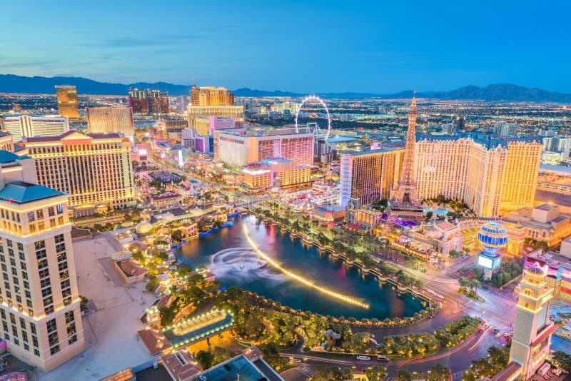 Horizon de Las Vegas, Nevada, Etats-Unis photos libres de droits
