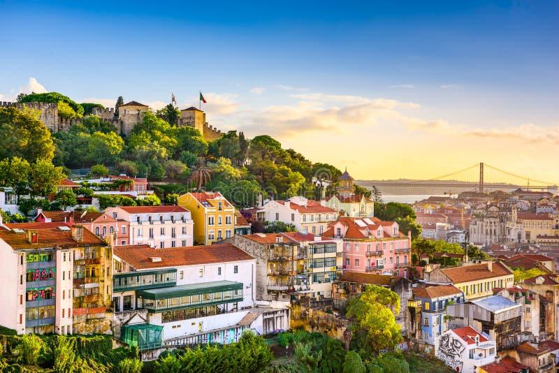 Horizon de Lisbonne, Portugal photos libres de droits