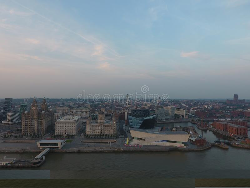 Horizon de Liverpool image stock