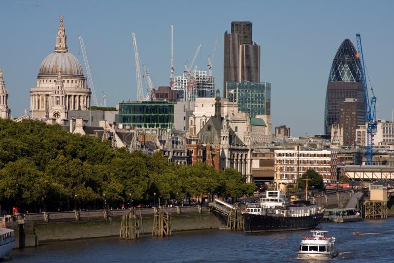 Horizon de Londres photographie stock