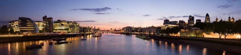 Horizon de Londres photo libre de droits