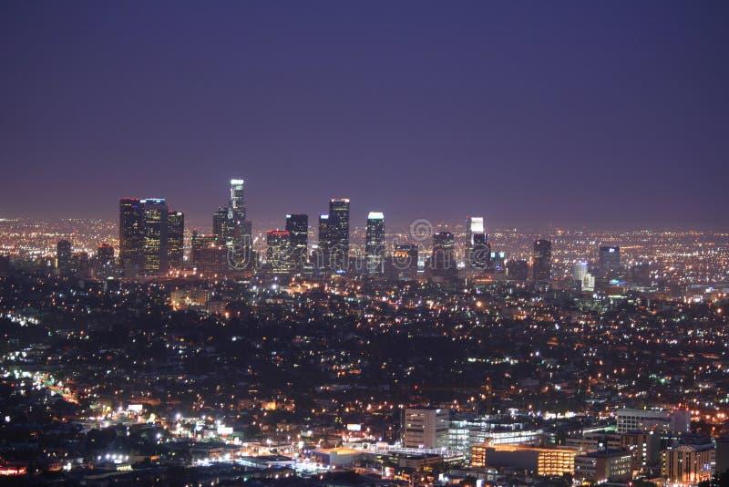Horizon de Los Angeles photos stock
