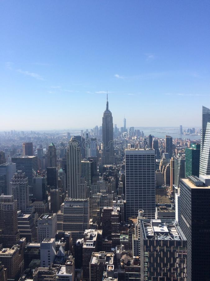 Horizon de Manhattan - New York City photographie stock