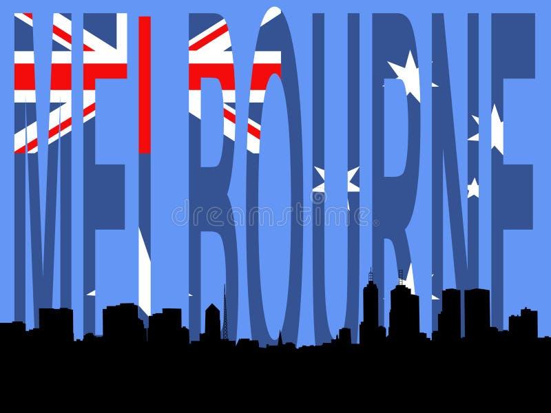 Download Horizon de Melbourne illustration de vecteur. Illustration du cityscape - 2140618
