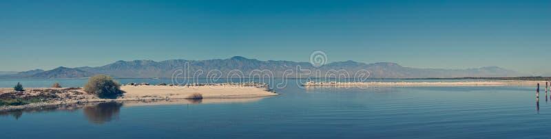Horizon de mer de Salton photographie stock