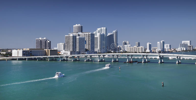Horizon de Miami image stock
