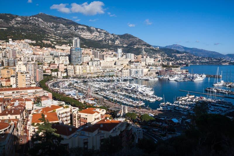 Horizon de Monte Carlo en Côte d'Azur photos stock