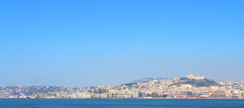 Horizon de Naples, Italie image libre de droits