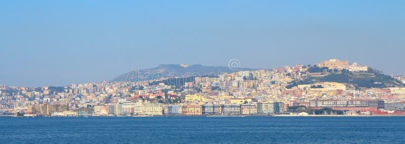Horizon de Naples, Italie photos libres de droits