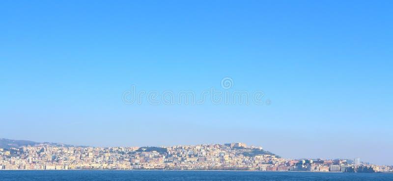 Horizon de Naples, Italie photographie stock