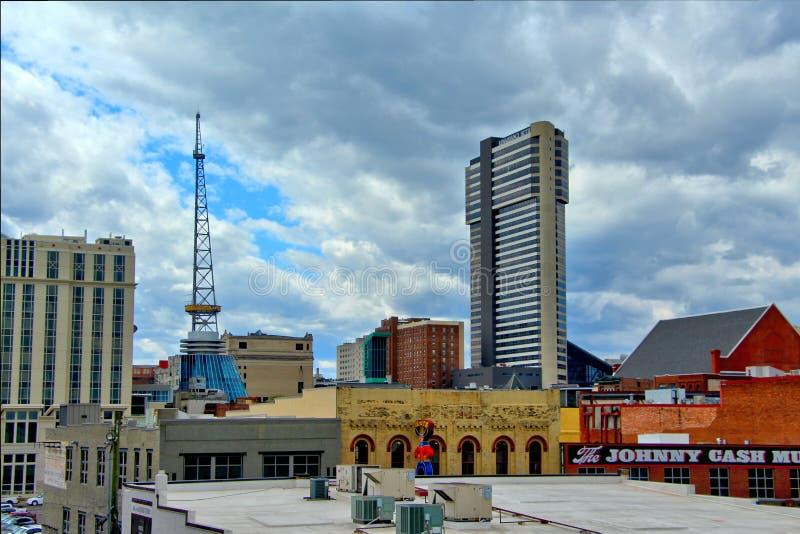 Horizon de Nashville photographie stock