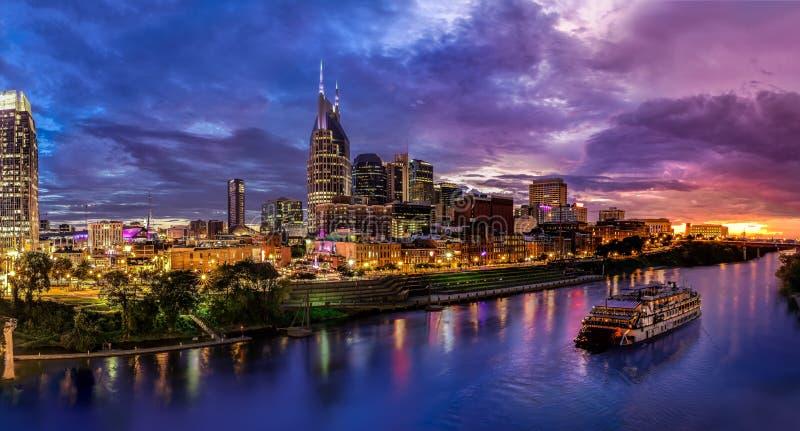 Horizon de Nashville image libre de droits