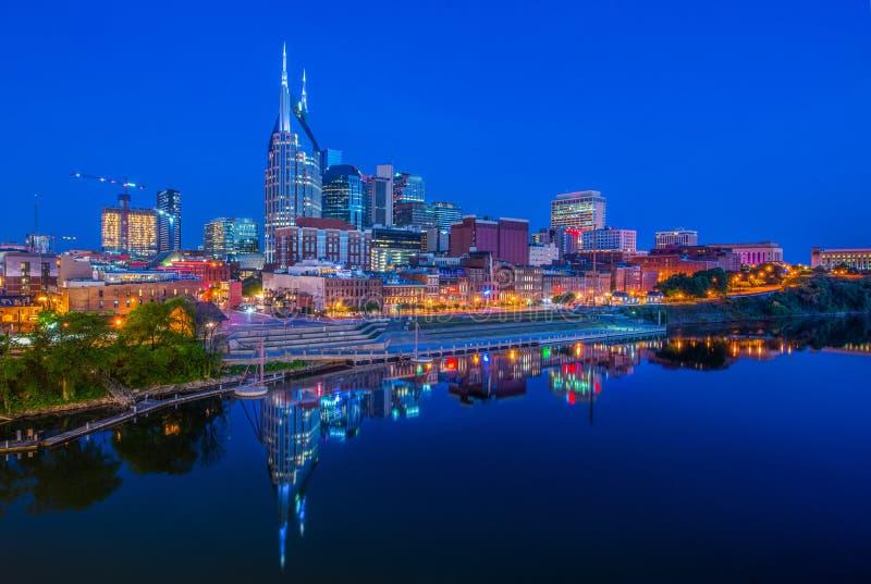 Horizon de Nashville, Tennessee, Etats-Unis photographie stock