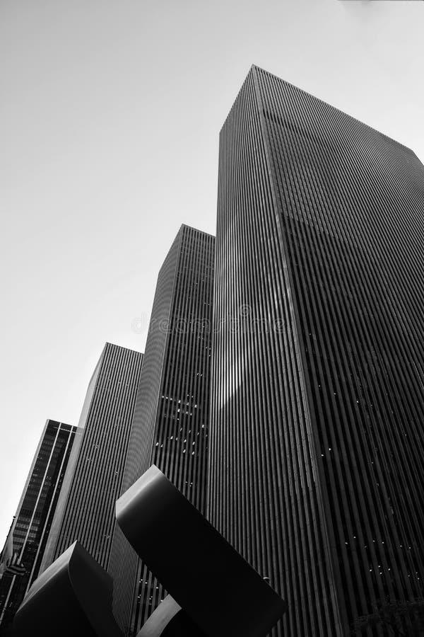 Horizon de New York à Manhattan photo stock