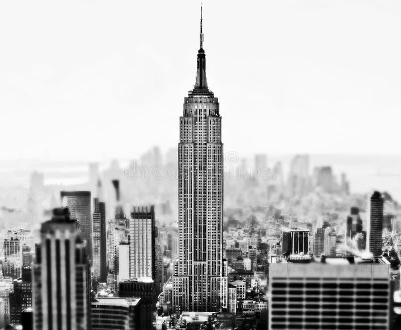 Horizon de New York images stock