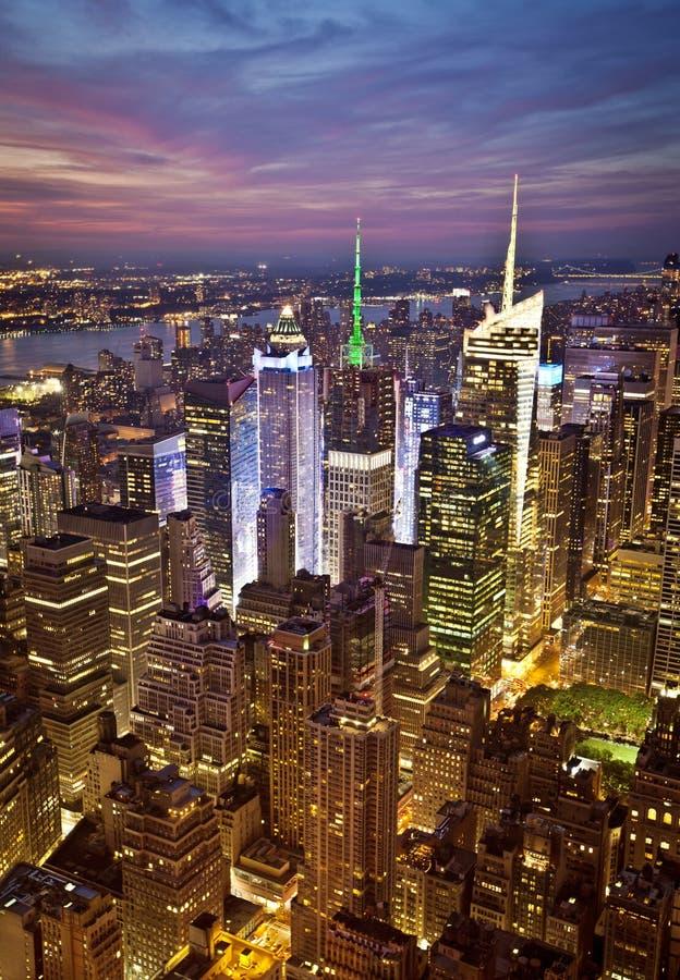 Horizon de New York photographie stock libre de droits