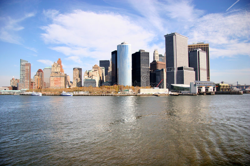 Horizon de New York photo stock