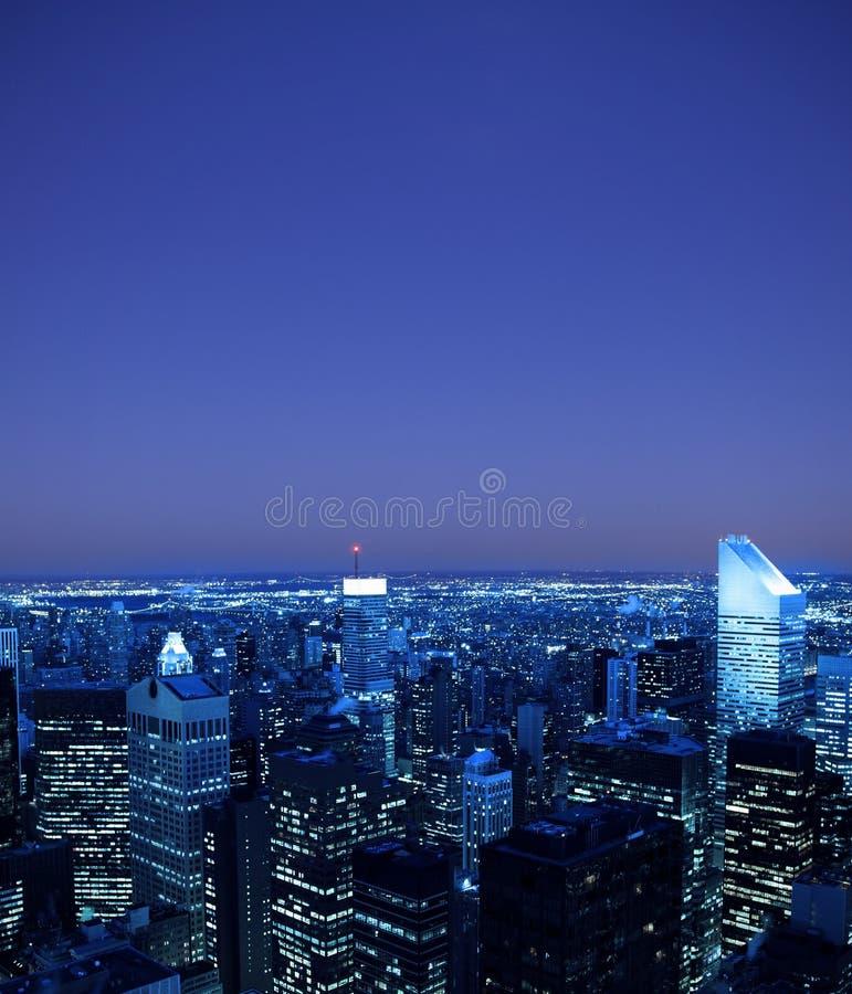 Horizon de New York City photos stock